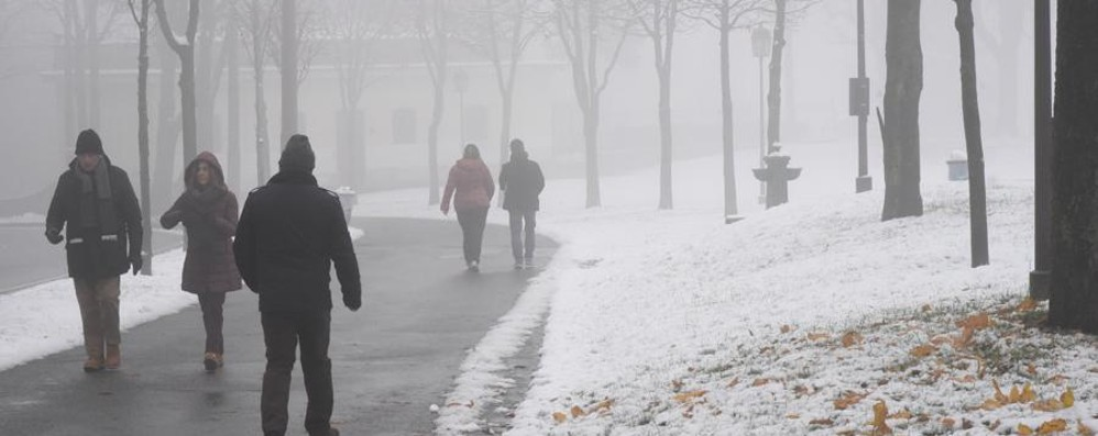 Meteo, maltempo in arrivo sull'Italia Neve anche a quote basse al Nord