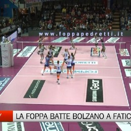 La Foppa batte Bolzano al quinto set