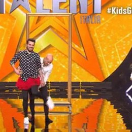 Tommaso incanta Kids Got Talent - video E dà lezione a Bisio e Frank Matano