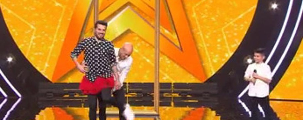 Tommaso incanta Kids Got Talent - video E dà lezione a Bisio e Frank Matano