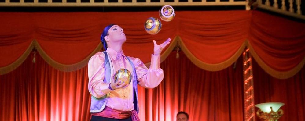 Torna la magia del circo nella settimana di Natale