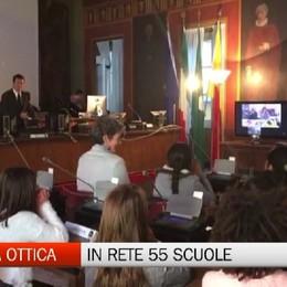 Fibra ottica mette in rete 55 scuole di Bergamo