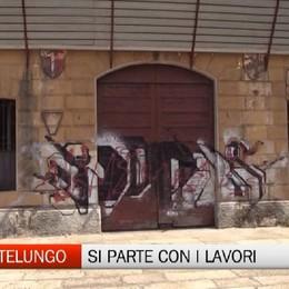 Montelungo, parte la demolizione