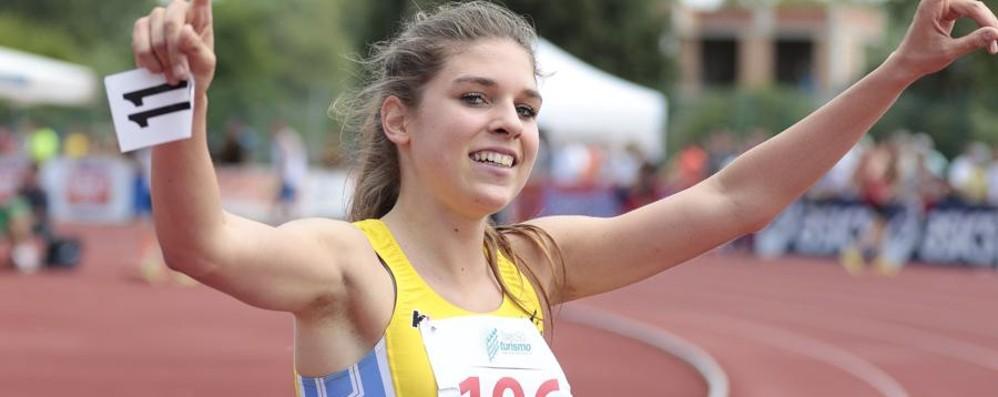 Premio «Atleta Città di Bergamo» I giornalisti premiano Marta Zenoni