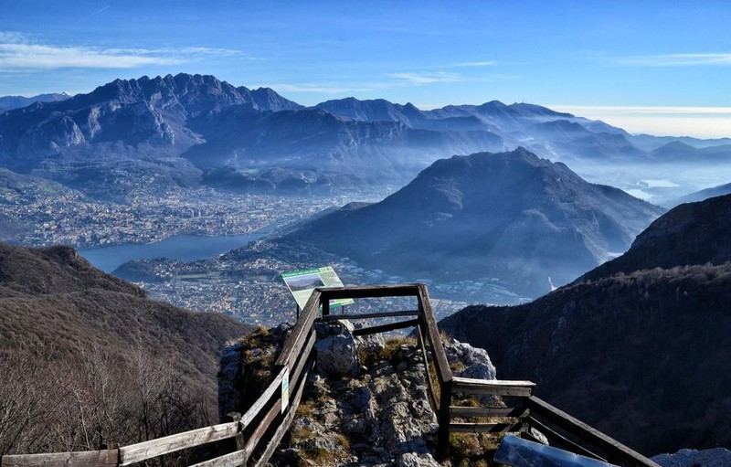 Panorama della valle dell'Adda - Galleria fotografica L ...