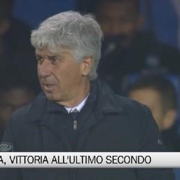 Atalanta, vittoria all'ultimo secondo.   Gasp: «L'Europa? Giochiamocela»
