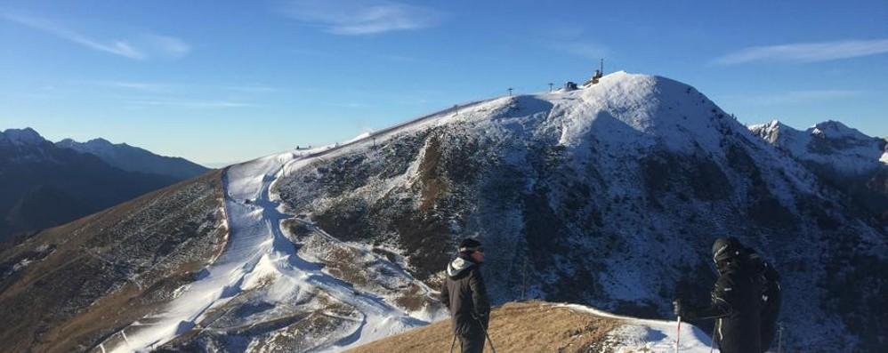 Caldo anomalo in montagna Sci, aprono solo Foppolo e il Pora