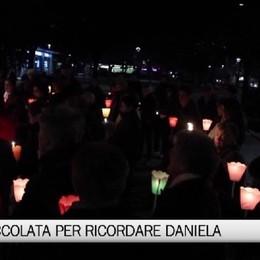Colognola: una fiaccolata per ricordare Daniela