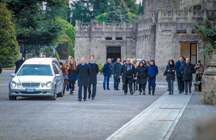 I funerali di Daniela Roveri