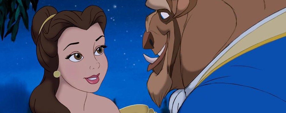 La «Bella e la bestia» Musical a Castione
