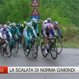 Norma Gimondi alla scalata della Federciclismo