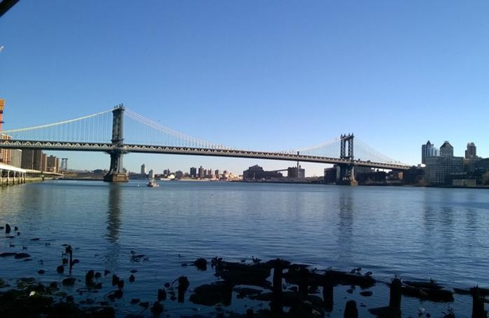 Il ponte di Brooklyn, New York