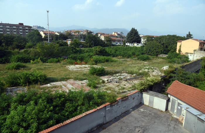 L'area dell'ex Gasometro