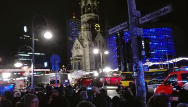 Berlino:freno automatico tir salvò vite