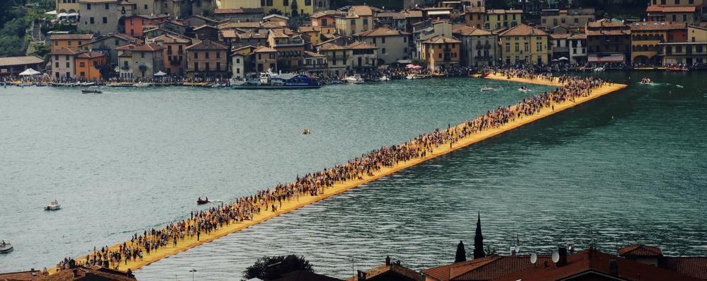 Eventi più visitati in Italia nel 2016 «Floating Piers» sbaraglia tutti
