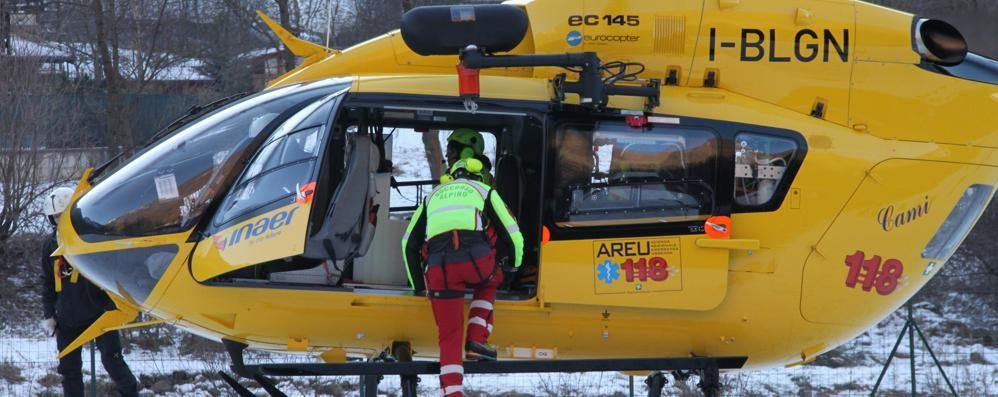 Gravissimo incidente sugli sci Bimbo di sette anni ricoverato a Bergamo
