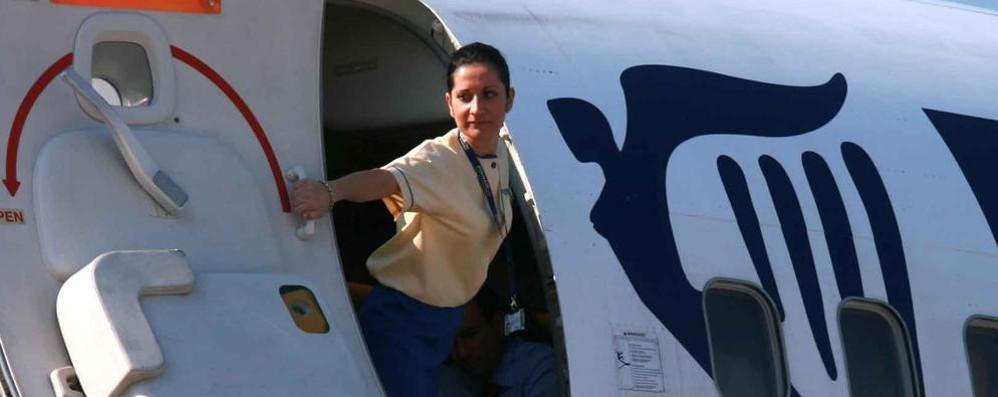 Assistente di volo sesso video