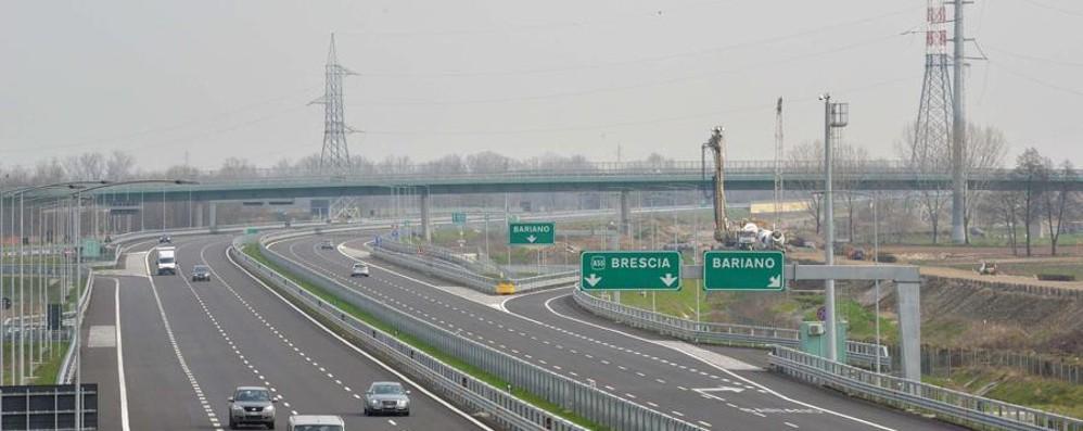 Brebemi, Autostrade ricorre al Tar «Quel collegamento ci danneggia»