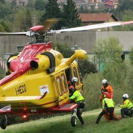 Escursionista precipita a Schilpario Soccorsi in azione, c'è anche l'elicottero