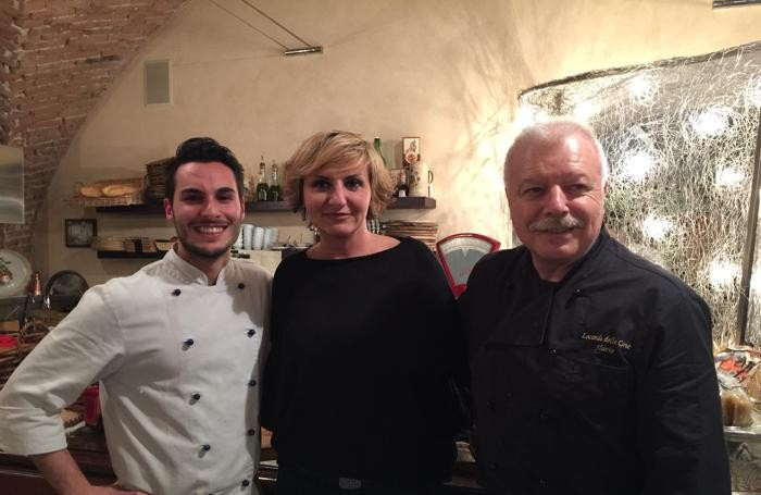 Da sin. Mirko Miraglia, Ilaria Salera e Flavio Mazzilli