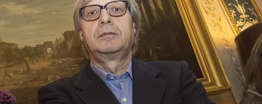 Sgarbi ci racconta il Caravaggio - video Una serata d'arte al Creberg Teatro