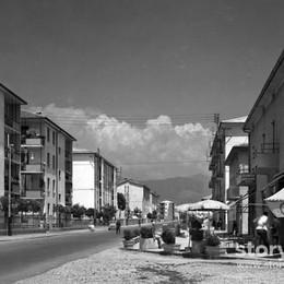 Celadina, due passi e un gelato negli anni '60 del quartiere «nuovo»