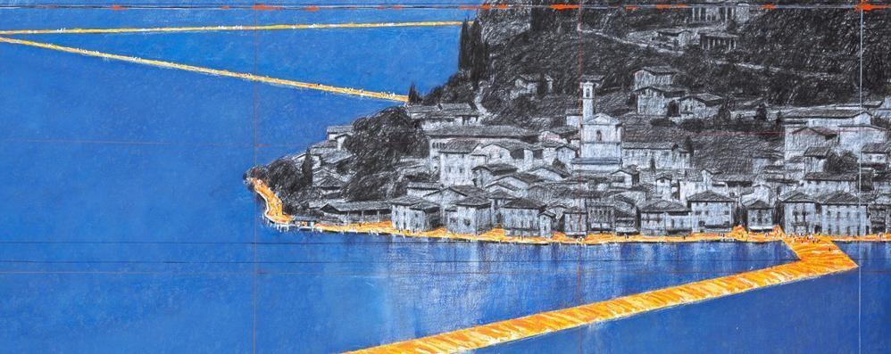 Il lago si prepara al ponte d'arte di Christo Legambiente: «Tutto da organizzare»