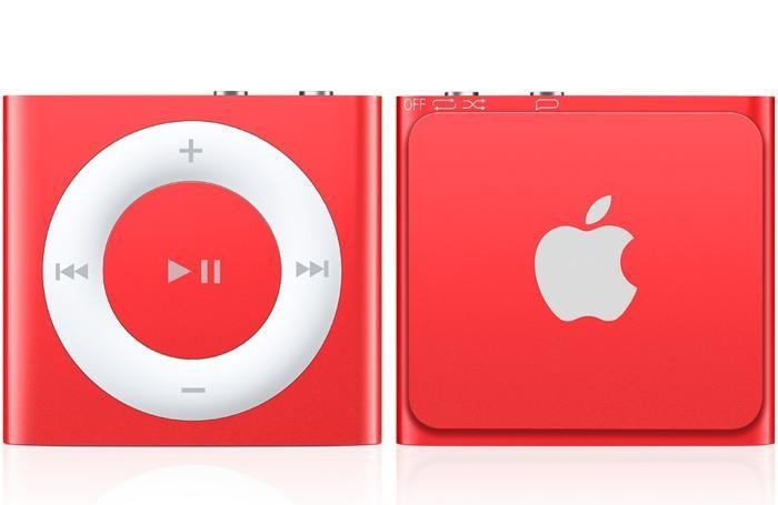 Lo Shuffle della Apple, in edizione rossa per San Valentino
