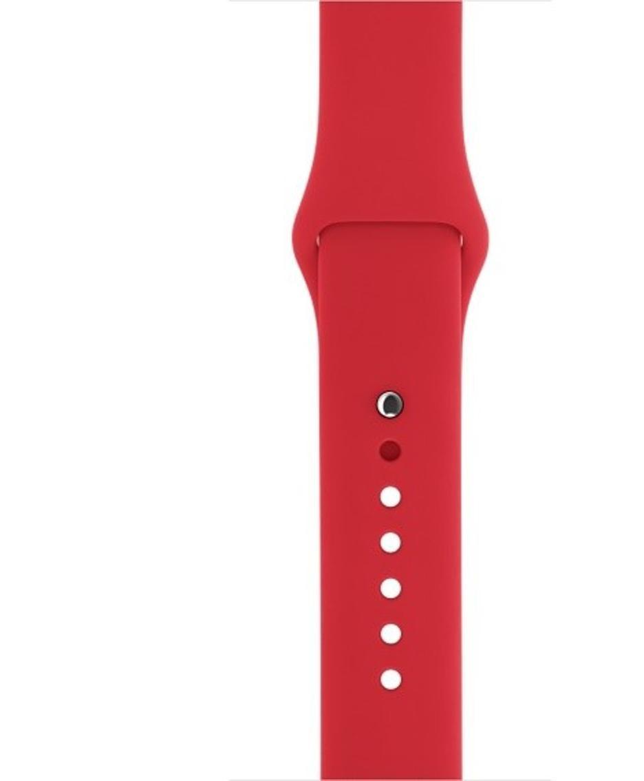 Il cinturino rosso per l'Apple Watch