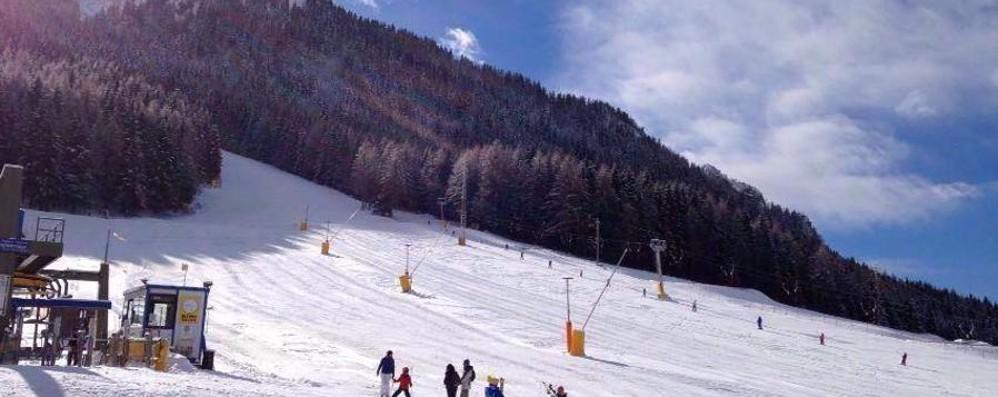 Neve, che sciate spettacolari Sul Monte Pora anche in notturna