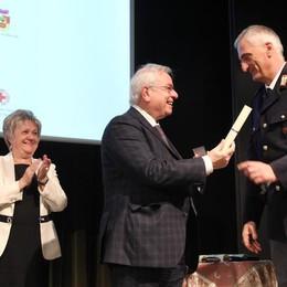 Bergamo ricorda il maresciallo D'Andrea Premiati poliziotti, militari e studenti