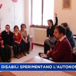 Mozzo, disabili sperimentano l'autonomia