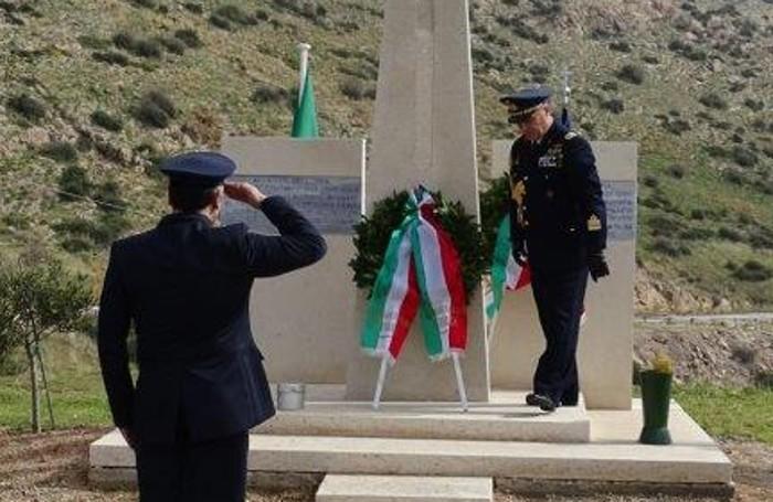 La cerimonia in Grecia nel 72° anniversario della tragedia