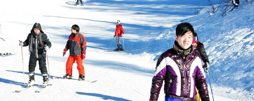 Boom di cinesi sugli sci E Valtorta è la pista preferita