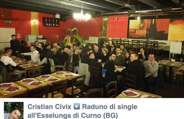 La serata è finita in pizzeria