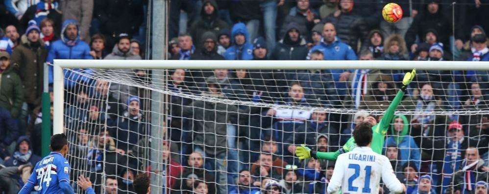 L'Atalanta rischia di perdere al 94' Alla fine buon 0-0 contro la Samp