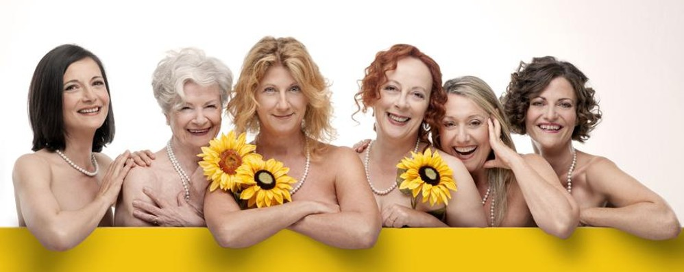 Donizetti, la prosa è da record - Video Oltre 6.000 spettatori con Calendar Girls
