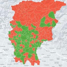 «Abolire i Comuni sotto i 5.000 abitanti» Ecco quali verrebbero cancellati - Mappa