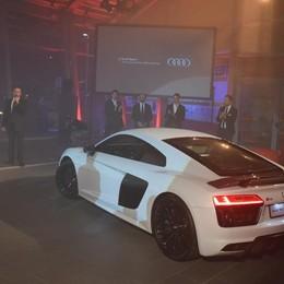 Audi, Bonaldi presenta la nuova R8 con Montolivo e De Sciglio - Video
