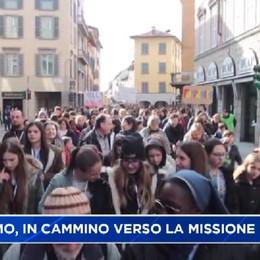 Bergamo, in cammino verso la missione