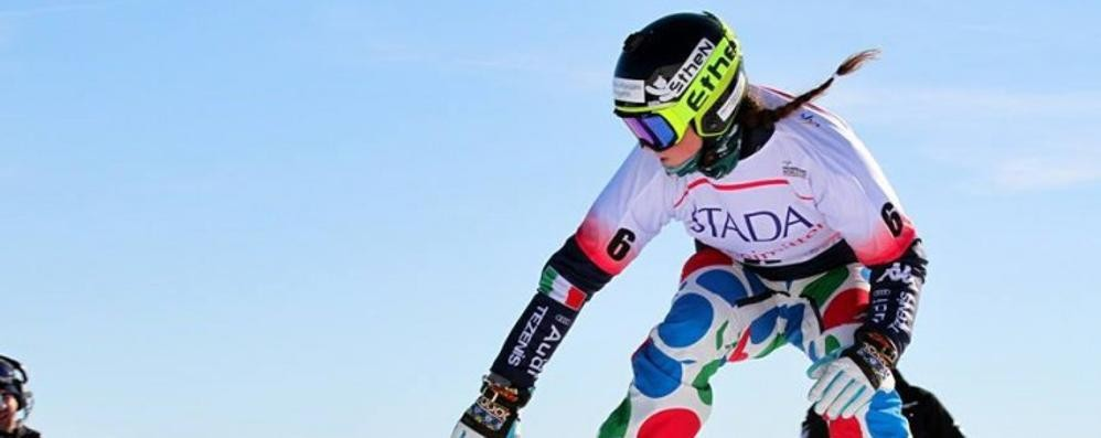Coppa del mondo snowboardcross Moioli è terza nella tappa russa