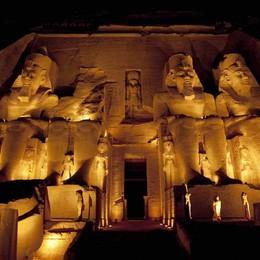 Tornano i faraoni e i misteri dell'Egitto