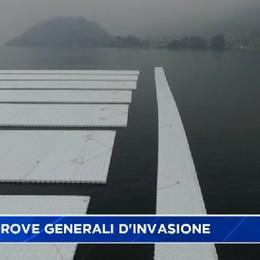 Domenica sul lago, prove generali d'invasione