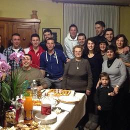 Agnese, super nonna a Calcinate Compleanno con 14 figli e 37 nipoti