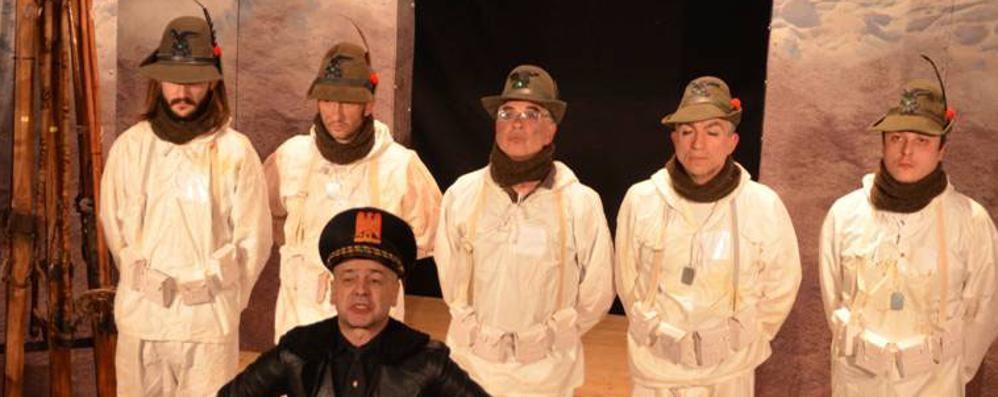 Con il «Teatro Honio» di Gazzaniga rivive la ritirata di Russia degli alpini