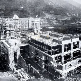 I lavori di costruzione del Casinò