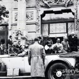 La Regina Margherita al Grand Hotel, era il 1905