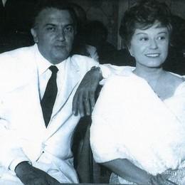 """Federico Fellini e Giulietta Masina: il regista girò a San Pellegrino alcune scene di """"Giulietta degli spiriti"""""""
