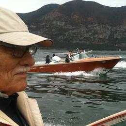Auguri glam alla leggenda del lago L'ingegner Riva compie 94 anni - Video