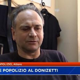 Popolizio e Orsini sul palco del Donizetti
